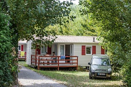 location mobil home cote basque