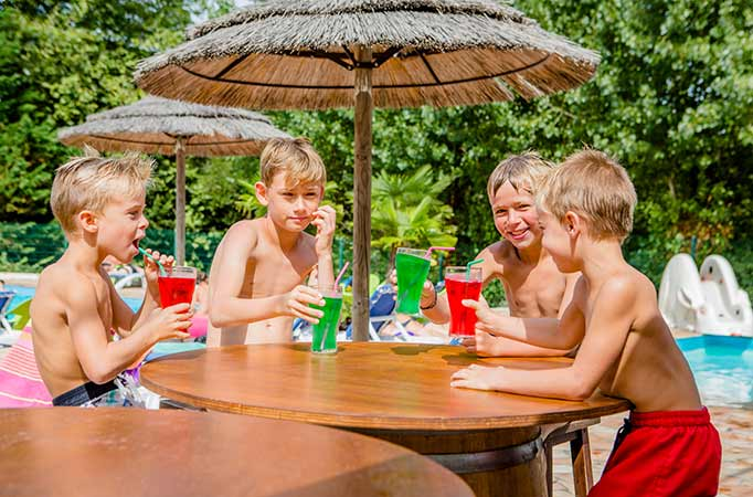 camping avec piscine bidart