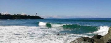 la plage d'Anglet