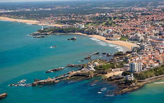 location mobil home biarritz