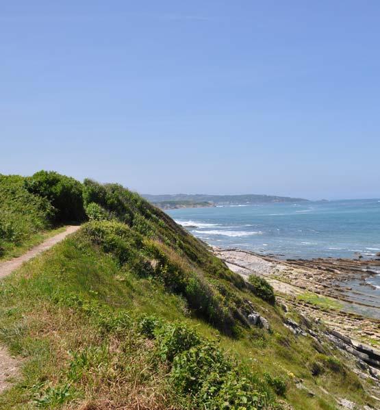 camping visite guidée sentier littoral pays basque