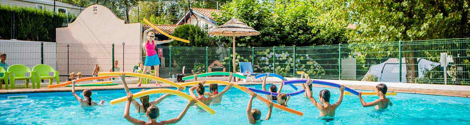 Camping bidart camping pays basque location vacances for Piscine pays basque