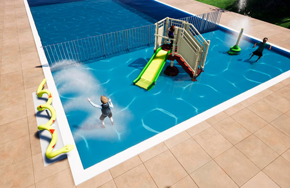 camping avec piscine famille au pays basque